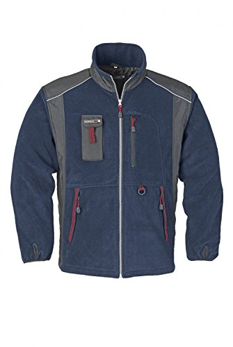 Arbeitsfleece Jacke, Terratrend Job, Blau, Gr.S-5XL