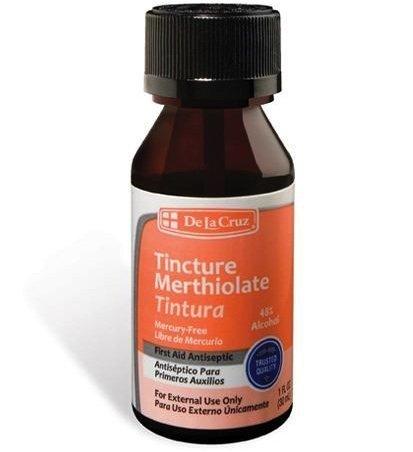 6pk - Merthiolate - Teinture - Antiseptique - De La Cruz