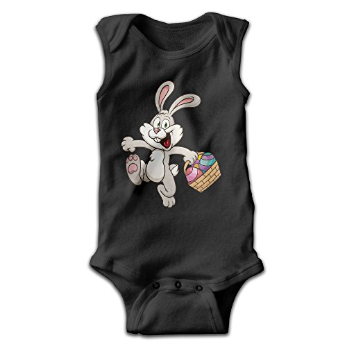 Burger King Outfit (Infants Rabbit Short Sleeve Bodysuit Baby Onesie Baby Climbing Clothes Outfits Jumpsuit Outfits Romper For 0-24 Months Black 12 Months)