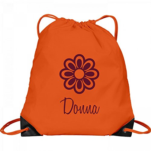 Flower Child Donna: Port & Company Drawstring Bag by FUNNYSHIRTS.ORG