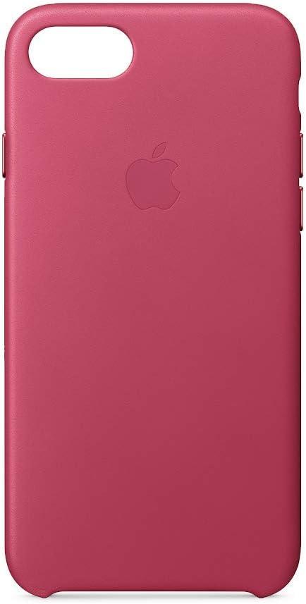 Apple iPhone 8 / 7 Leather Case - Pink Fuchsia