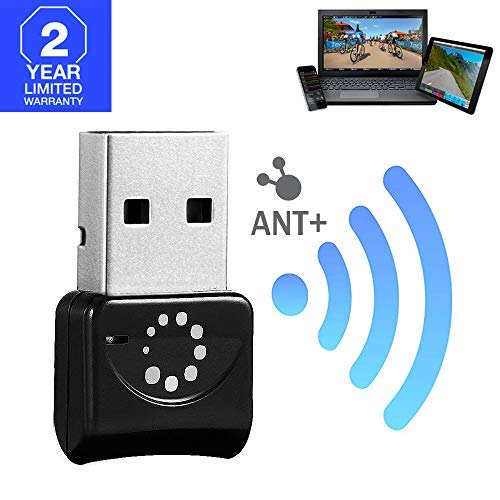 TAOPE Mini ANT+ Dongle USB Stick Adapter for Zwift, Garmin