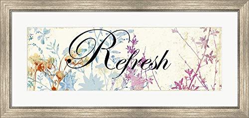 Refresh Wildflowers by Posters International Studio Framed
