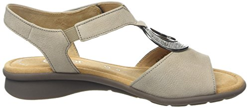 Agento Metallic Nubuck Brown Ainsley Femme Gabor Sandales Taupe vnqwY0xXR