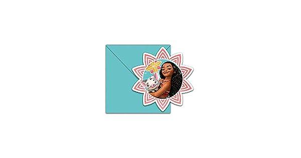 Amazon.com: Moana invitaciones y sobres (6 unidades): Toys ...