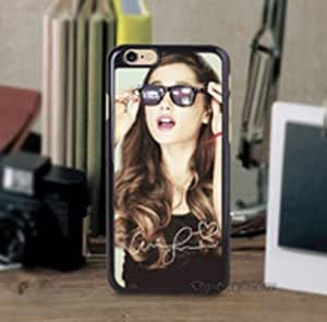 Ariana Grande Personalized Black Hard PC Case Cover for iphone 6 4.7