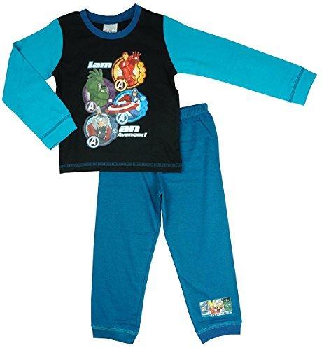Marvel Avengers - Pijama Dos Piezas - para niño Azul Azul