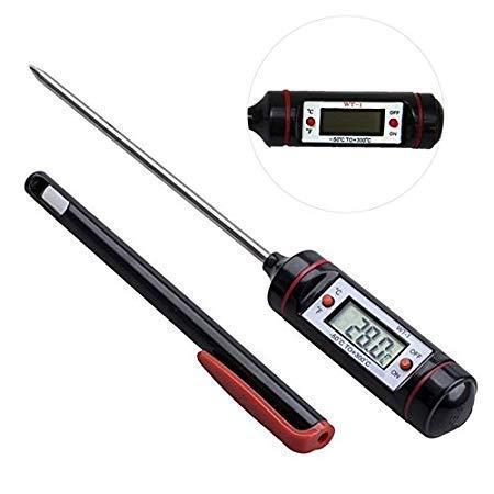 KNAFS Thermometer Sensor BBQ Kitchen Cooking Tool with Digital Sensorprobe.