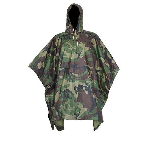 Multifunctional Military Camouflage Rainwear Waterproof