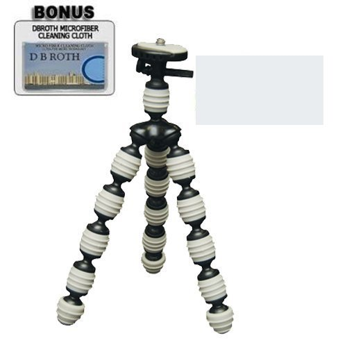Flexible Gripster Camera Tripod For The Sony Bloggie Touch MHS-TS20, TS10 Camcorders by DBROTH