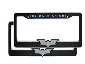 Amazon Com A Set Of Two Plastic 3d License Plate Frame