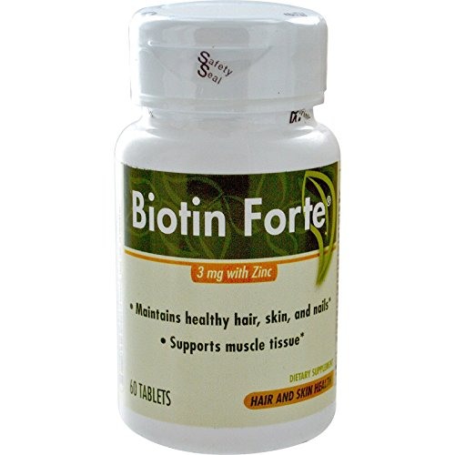 Biotin Forte Zinc Tabs Pack product image