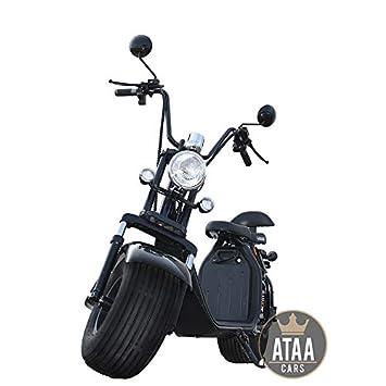 ATAA Citycoco Matriculable Batería extraíble - Scooter ...