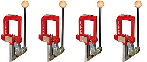 LEE PRECISION Breech Lock Challenger Press (Red) (4) by LEE PRECISION