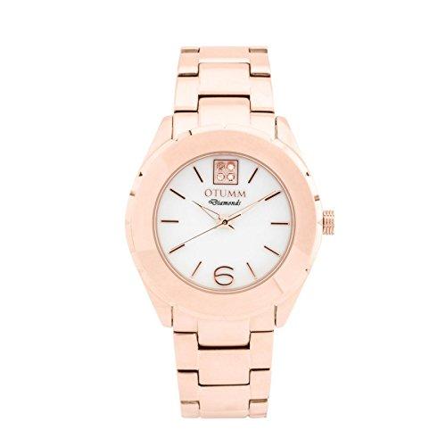 Otumm Ibiza Diamond MOP Oro Rosa 38mm Unisex Ibiza Reloj: Amazon.es: Relojes
