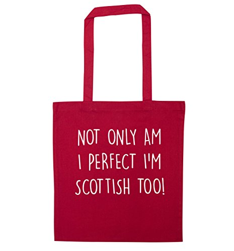 tote I bag only Scottish perfect am Not I'm too Red q07BHxnw