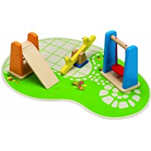 Hape Wooden Doll House Furniture Playground Set and Accessories