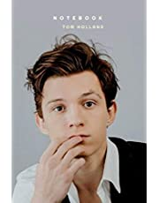 TOM HOLLAND NOTEBOOK : PERFECT FOR GIFT: JOURNAL LINED