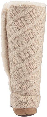 MUK LUKS Womens Malena-Vanilla Slipper Cream X5oHjUbaf