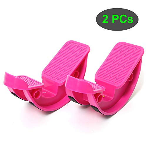 TODO Foot Rocker Calf Stretcher for Pain Relief and Muscle Stretch 2 PCS Pink