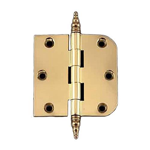 Cabinet Hinge Radius Brass Steeple Finial 3