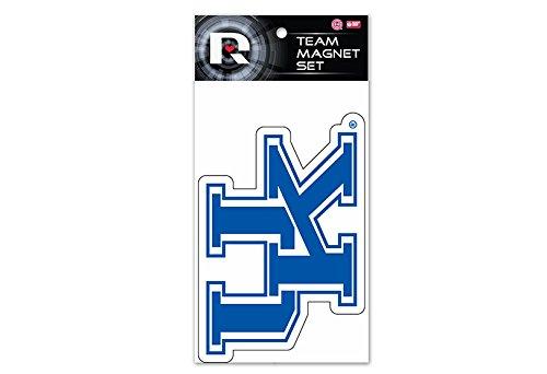 (Rico Industries NCAA Kentucky Wildcats 2-Pack Die Cut Team Logo Magnet Set)