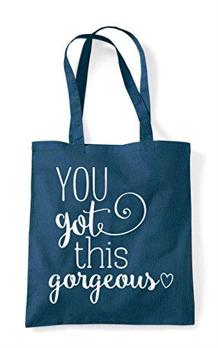 Got Gorgeous Bag Tote Petrol You This Shopper TxBwdUpq