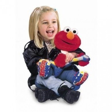 Roll Elmo (Rock & Roll Elmo ~ Guitar Playing & Singing)