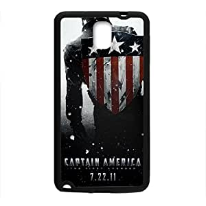 SVF Personalized Captain America Design Best Seller High Quality Phone Case For Samsung Galacxy Note 3