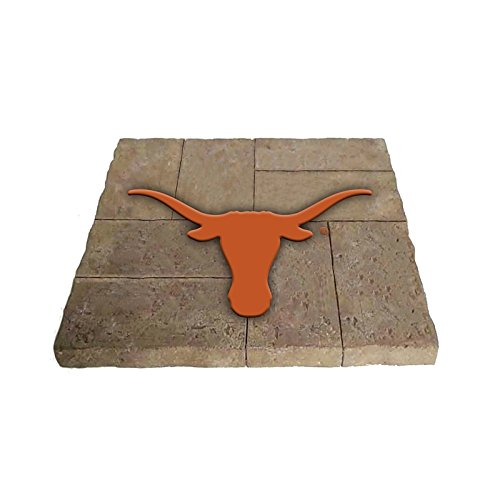 Team Sports America University of Texas Garden Paver Team Logo Decorative Stepping Stone by Team Sports America
