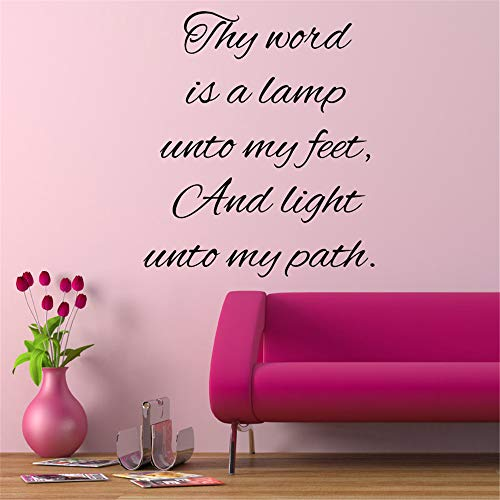 Thy Word Is A Light To My Path in US - 8