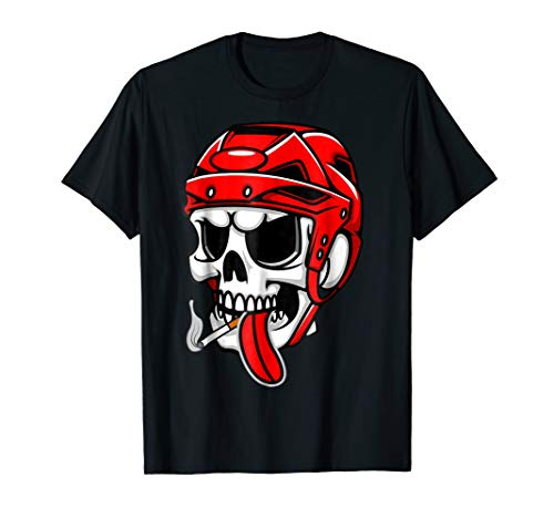 Graphic Skull Skater Funny Bold Printed Unique T-Shirt