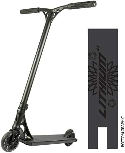 Lithium Complete Scooter – Stunt Scooters – Professional Scooter for Any Age Rider – Pro Scooters for Kids Pro Scooters for Adults – Pro Scooter Deck, Pro Scooter Wheels – Ready to Ride Trick Scooter