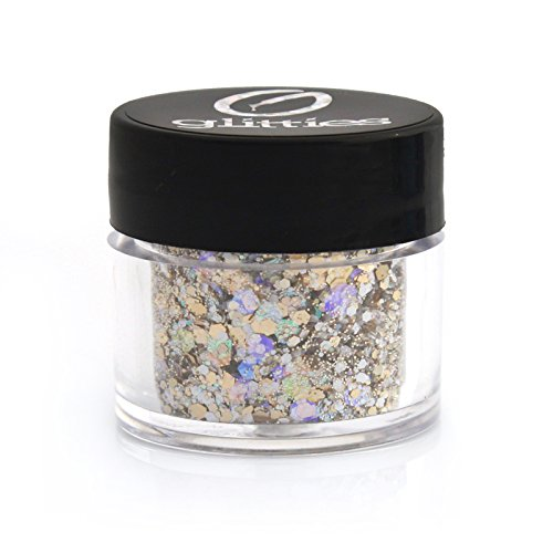 (Vanilla Bean - Holographic & Matte Chunky Glitter ✶ COSMETIC GRADE ✶ Festival Body Glitter, Makeup, Face, Hair, Lips, Nail)