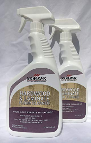 New Mohawk Hardwood and Laminate Floor Cleaner 32 fl oz Spray Bottle Pack of 2. ... ()