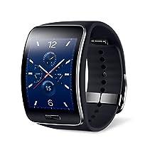 Samsung Galaxy Gear S R750W Smart Watch With Curved Super Amoled Display (Black)