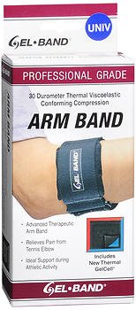 Fla Orthopedics Gel-Band Arm Band - 1 ea, Pack of 2