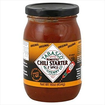 Tabasco Sauce 7spice Chili, 16 oz, pack of 6