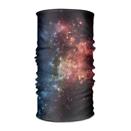ZZATAA Outer Space Nebula Headwear Hats Elastic Head Wrap Scarf Hair Band (Echoes Of Time Costumes)