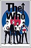 The Who Rock Music Band Sticker - Logo and Band Members