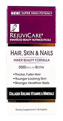 Windmill Health Rejuvicare Hair, Skin and Nail Formula, 30 Count
