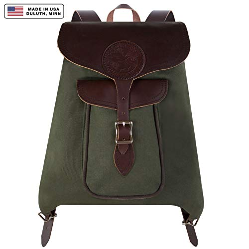 - Duluth Pack Rucksack Backpack, Olive Drab
