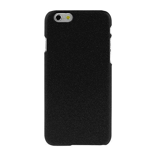 JUJEO ENKAY Textur wie Sand-PC Schutzhülle für iPhone 6, Schwarz