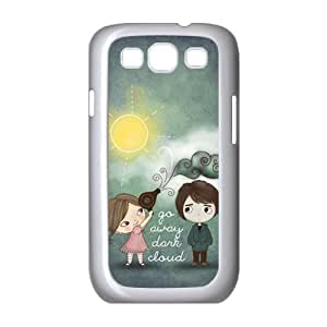 Generic Cell Phone Case For Samsung Galaxy s3 case i9300 Cute Love Quote I Love You To The Moon Live the Life You Love the Life You Live Background Snap On Hard Plastic Protective Shell