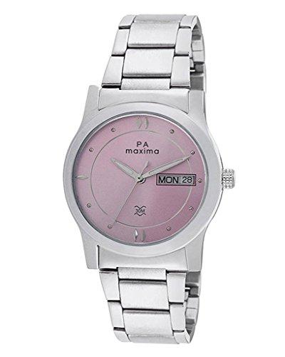 Maxima Attivo Day Date Pink Dial Women  38303CMLI