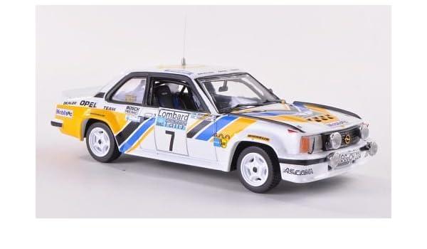 Opel Ascona B 400, No.7, Dealer Opel equibo, RAC Rally , 1980, Modelo de Auto, modello completo, Vitesse 1:43: Vitesse: Amazon.es: Juguetes y juegos