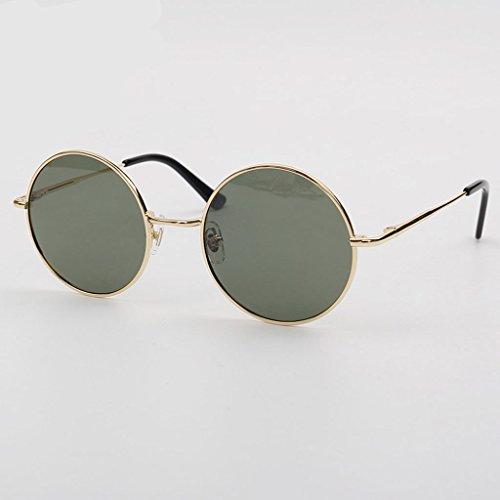 Marea Color Prince Rostro Masculina Femenino GAOYANG H Sol A Espejo Gafas De Vendimia De Polarizadas Gafas Myopia Harajuku Redondas Gafas Estilo ngUSgI