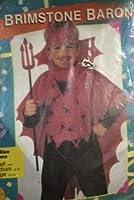 Brimstone Baron Boys Devil Costume - Large