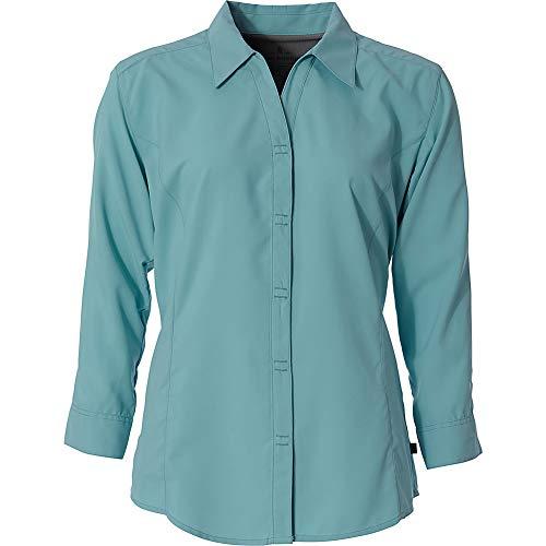 Expedition S/s Shirt - Royal Robbins Womens Expedition 3/4 Sleeve (S - Aqua)