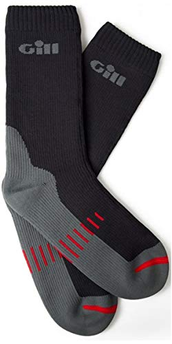 Gill 2018 Waterproof Socks Graphite 762 Size - - Medium